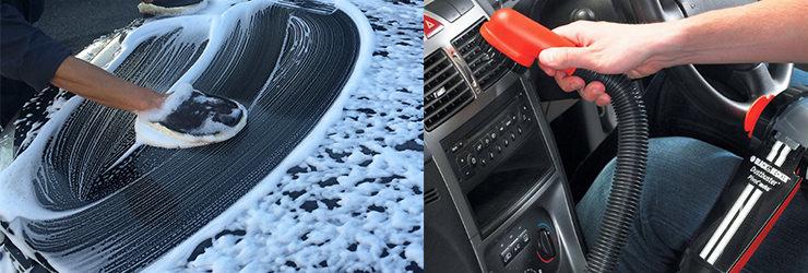 車を査定する前の洗車や掃除