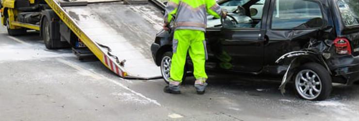 自走可否が重要となる事故車
