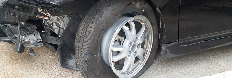 事故車を処分する