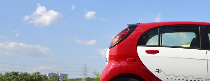 電気自動車と空